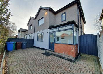 Thumbnail 4 bed semi-detached house to rent in Beresford Road, Manchester