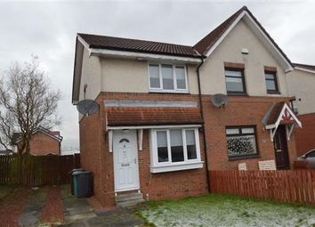 Thumbnail 2 bed semi-detached house for sale in Burnbrae Avenue, Moodiesburn, Glasgow