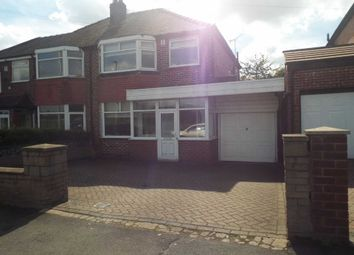 Thumbnail 3 bedroom semi-detached house to rent in Sheepfoot Lane, Prestwich, Manchester