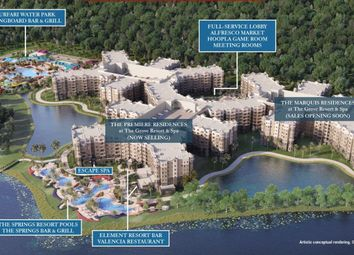 Thumbnail 3 bed apartment for sale in Grove Resort Avenue, Orlando, Florida
