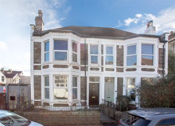 Thumbnail 3 bed semi-detached house for sale in Seymour Road, Bishopston, Bristol