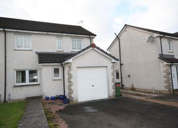 Thumbnail 3 bed semi-detached house to rent in Smithfield Meadows, Alloa, Clackmannanshire