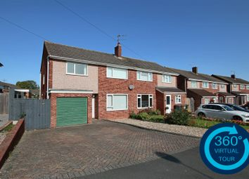 Thumbnail 3 bed semi-detached house for sale in Broadfields Road, Exeter