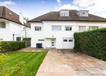 Thumbnail 5 bed semi-detached house to rent in Vivian Way, Hampstead Garden Suburb, London