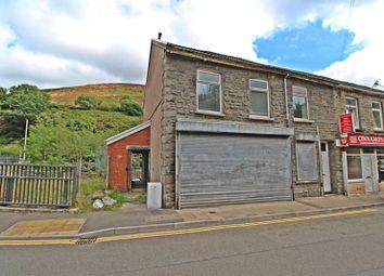 Thumbnail End terrace house for sale in Llewellyn Street, Pontygwaith, Ferndale, Rhondda Cynon Taff