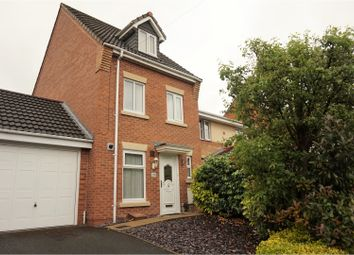 Thumbnail 3 bed town house for sale in Dudley Wood Road, Dudley