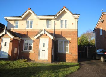 Thumbnail 2 bed semi-detached house to rent in Redstart Grove, Worsley, Manchester
