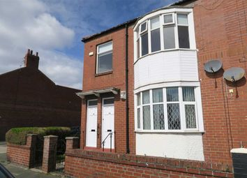 Thumbnail 3 bed flat to rent in Morpeth Avenue, South Shields