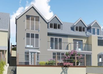 Thumbnail 3 bed maisonette for sale in Downs View, Looe