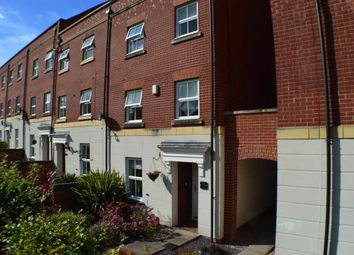 Thumbnail 3 bed town house for sale in Trunkfield Meadow, Darwin Park, Lichfield, Staffordshire