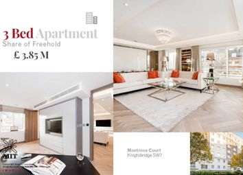 Thumbnail 3 bed flat for sale in Princes Gate, London