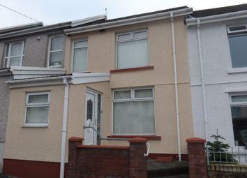 Thumbnail 3 bed terraced house for sale in St Tydfils Avenue, Thomastown, Merthyr Tydfil