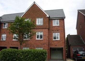 Thumbnail 4 bed semi-detached house to rent in Chaise Meadow, Lymm