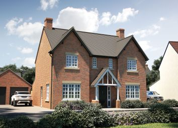 "Thumbnail 4 bed detached house for sale in ""The Thornsett"" at Marton Road, Long Itchington, Southam"