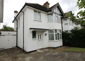 Thumbnail 3 bed semi-detached house to rent in Manor Park Gardens, Edgware