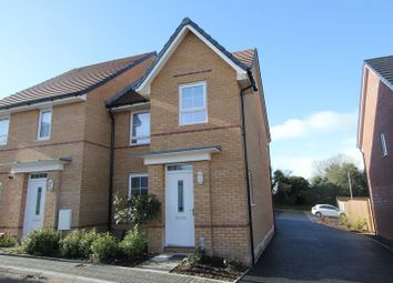 Thumbnail 3 bed semi-detached house for sale in St. Johns View, St. Athan, Barry