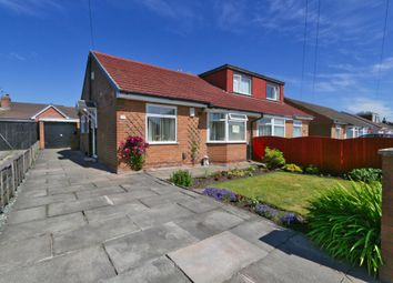 Thumbnail 2 bed semi-detached bungalow for sale in School Lane, Irlam, Manchester