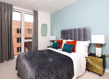 Thumbnail 1 bed flat for sale in Royal Albert Wharf, Docklands, London