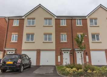 Thumbnail 4 bedroom town house for sale in Curiosity Close, Rugby