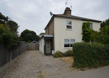 Thumbnail 2 bed semi-detached house for sale in High Street, Elsenham, Bishop's Stortford