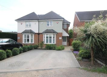 Thumbnail 4 bed semi-detached house to rent in Stockers Lane, Woking