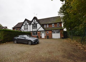 Thumbnail 4 bed semi-detached house for sale in Rowney Cottages, Harlow Road, Sawbridgeworth