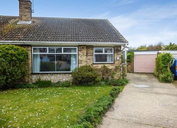 Thumbnail 2 bedroom semi-detached bungalow for sale in Fenlands Crescent, Lowestoft
