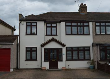 Thumbnail 4 bedroom end terrace house for sale in Acacia Avenue, Hornchurch