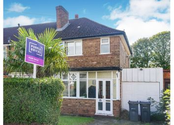 3 bed semi-detached house for sale in Larne Road, Birmingham B26