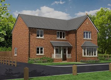 Thumbnail 4 bed detached house for sale in The Paddocks, Baschurch, Shrewsbury, Shropshire