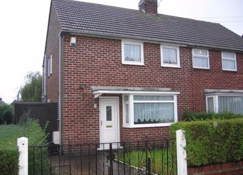 Thumbnail 2 bed semi-detached house to rent in Birch Close, Alfreton