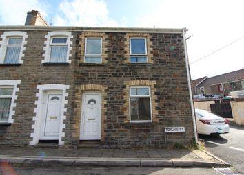 Thumbnail 3 bedroom end terrace house to rent in Torlais Street, Newbridge, Newport