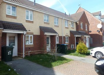Thumbnail 2 bed terraced house to rent in Cobb Close, The City, Coventry