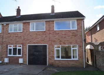 Thumbnail 3 bed semi-detached house for sale in Nursery Walk, St Johns, Worcester