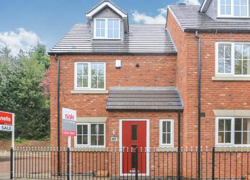 Thumbnail 3 bedroom town house for sale in Mill Lane, Off Wightwick Bank, Tettenhall Wood, Wolverhampton