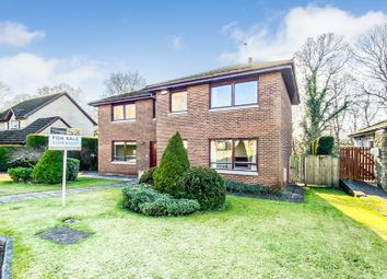 Thumbnail 4 bed detached house for sale in Downfield Gardens, Bothwell