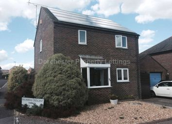 Thumbnail 3 bed link-detached house to rent in Balmoral Crescent, Dorchester