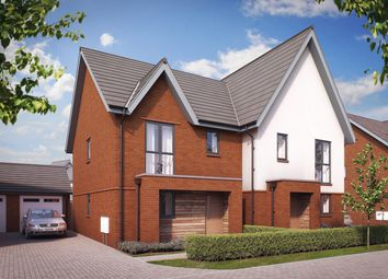 "Thumbnail 3 bed property for sale in ""The Calabria"" at John Ruskin Road, Tadpole Garden Village, Swindon"