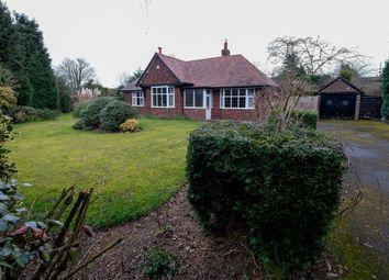 Thumbnail 2 bed detached bungalow for sale in Somerville, 14 Grammar School Road, Lymm