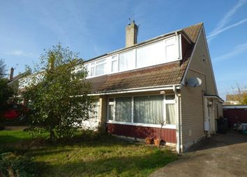 Thumbnail 3 bed semi-detached house for sale in Jillian Way, Ashford, Kent