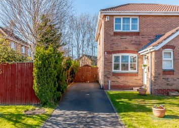 Thumbnail 2 bed semi-detached house for sale in Kaims Gardens, Livingston Village, Livingston