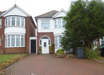 Thumbnail 3 bed detached house to rent in Ridgacre Road, Quinton, Birmingham