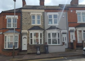 Thumbnail 3 bed terraced house to rent in Gaul Street, Off Narborough Road, Leicester