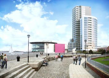 Thumbnail 2 bed flat for sale in Riverside Drive, Liverpool