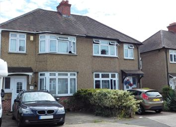 Thumbnail 3 bed semi-detached house for sale in Dellfield Crescent, Uxbridge