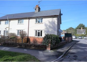 Thumbnail 2 bed semi-detached house for sale in Middlehill Road, Colehill, Wimborne