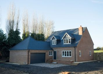 Thumbnail 4 bed detached house for sale in Denton Road, Horton, Northampton