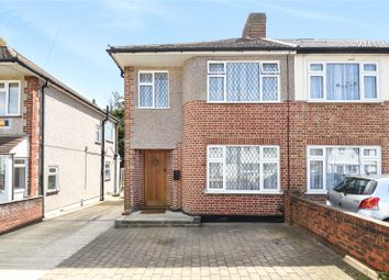 Thumbnail 3 bed semi-detached house for sale in Long Drive, South Ruislip, Middlesex
