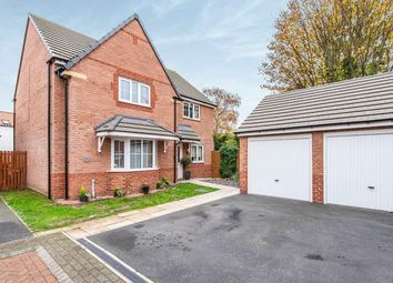 Thumbnail 4 bed detached house for sale in Manor Farm Court, Finningley, Doncaster