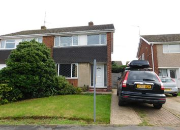 Thumbnail 3 bed semi-detached house for sale in St. Stephens Road, Kettering